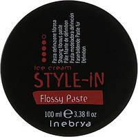 Волокниста паста для укладання - Inebrya Style-In Flossy Paste 100ml, фото 1