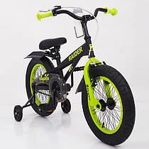 Детский двухколесный велосипед  (от 5 лет) на 16 дюймов RAIDER SJ 16-19
