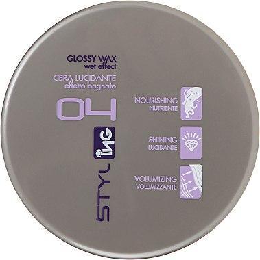 Віск-блиск №4 - ING Professional Styling Glossy Wax 100ml
