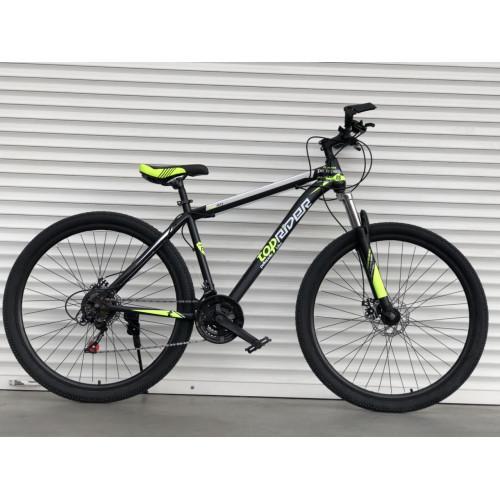 Спортивный скоростной велосипед  TopRider Pelle 611 салатовый 29 дюймов