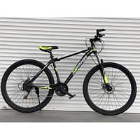 Спортивный скоростной велосипед  TopRider Pelle 611 салатовый 29 дюймов, фото 1