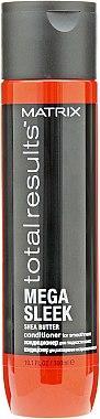 Кондиціонер з маслом Ши для гладкості волосся - Matrix Total Results Mega Sleek Conditioner 300ml