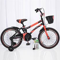 Детский двухколесный велосипед HAMMER S500 красный 18 дюймов