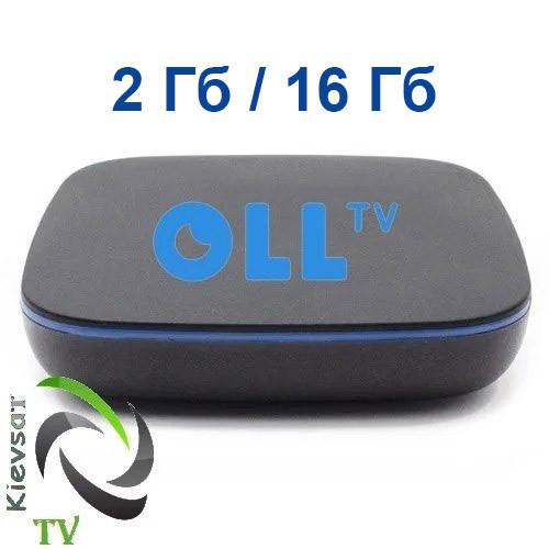 Оll TV BOX 2Gb 16Gb | 147 каналов + видеотека на 12 месяцев