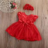Нарядное платье с повязкой  размер 92., фото 2