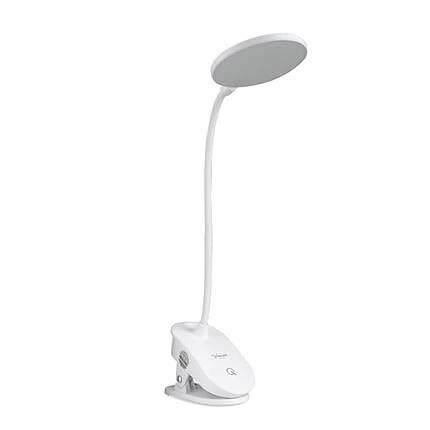 Настольная светодиодная лампа YAGE T101 гибкая LED лампа на прищепке сенсорное управление USB, фото 2