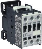 Контактор силовой ETI CEM 25.00 25А 24V AC 3NO 11kW 4645100 (на DIN-рейку, 45A AC1, 25A AC3)