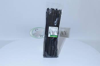 Хомут пластиковый 3,6х300 (черный) CW36300B (пр-во Carway)