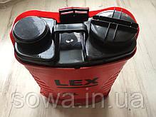 ✔️ Акумуляторний садовий обприскувач LEX_PROFI / 16L , 15Ah, фото 3