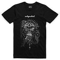 Чоловіча футболка чорного кольору IDEPENDENT