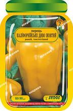 Перец Калифорнийское Чудо жёлтое 60-90 шт. дражированные семена Яскрава