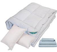 Одеяло Лебединый пух. 2,00*2,20 евро размер Лебяжий пух.