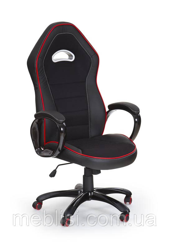 Крісло комп'ютерне ENZO чорний (Halmar)