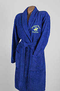 Халат Beverly Hills Polo Club - 355BHP1705 S/M dark blue синий