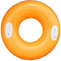 Детский надувной круг 59258 (Оранжевый)
