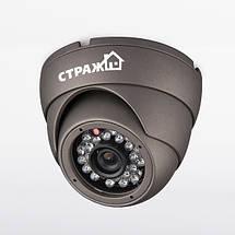 Комплект проводного видеонаблюдения Страж AHD Эконом, фото 3
