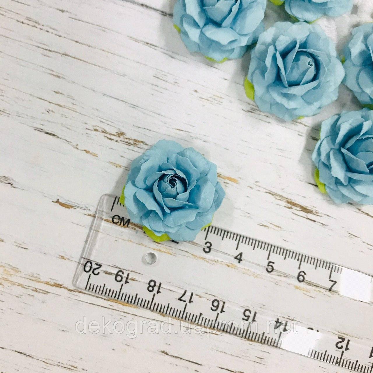 Роза голубая ДГ 30-32 мм