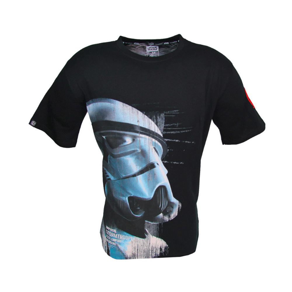 Футболка STAR WARS Imperial Stormtrooper (Имперский Штурмовик), чёрная, размер L