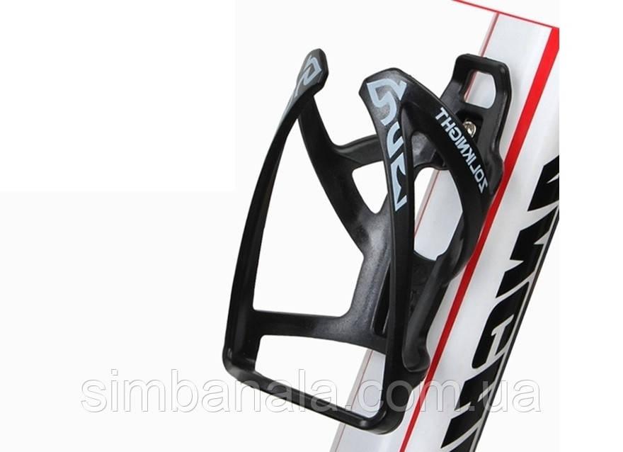 Флягодержатель BC-BH9230 Pl черный с серым