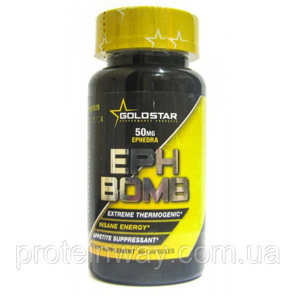 Gold Star Performance Products Жиросжигатель EPH Bomb 60 капсул