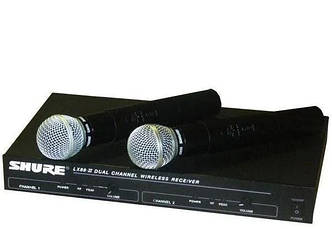 Радиосистема Shure UHF LX 88 II, база, 2 микрофона 0554