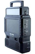 Фонарь GD-8086 с FM, TV и солнечной панелью