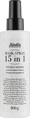 Спрей-маска миттєвої дії 15 в 1 - Mirella Style Volumizing Spray
