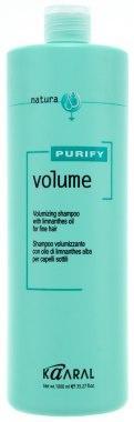 Шампунь для тонких волос с маслом лимнантеса - Kaaral Purify Volume Shampoo 1000ml