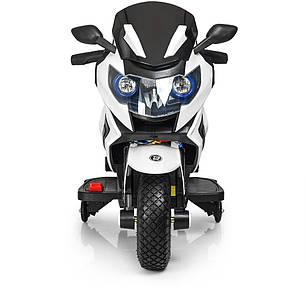 Детский мотоцикл Bambi белый 3681, фото 2
