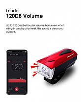 Фонарь пер. BC-FL1592 350лм LED питание Li-on 1800mAh с эл звонком USB Pl