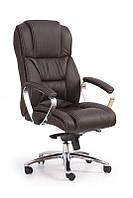 Кресло FOSTER коричневый КОЖА (Halmar)
