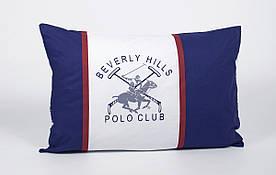 Наволочки Beverly Hills Polo Club - BHPC 001 Dark Blue 50*70 (2 шт)
