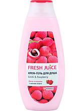 Крем-гель для душа Личи и малина 400 мл Fresh Juice арт.6111