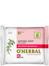 Натуральне мило з екстрактом годжі і червоної глини 100 г O Herbal арт.3532