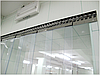 Энергосберегающая ленточная ПВХ завеса Германия Н2000х1250мм, лента 200х1.7 мм, комплект с карнизом