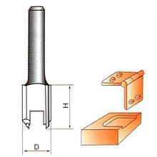 Фреза по дереву пазовапряма для вибірки під петлі. Серия 1002 D16 h19