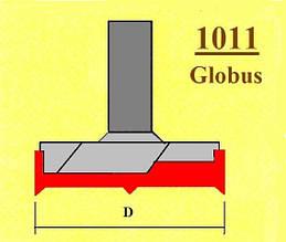 Фреза пазова для дверних петель (навісів), фреза Форстнера. Серія 1011.  D16 h18 d8