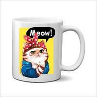 """Чашка """"Meow!"""""""