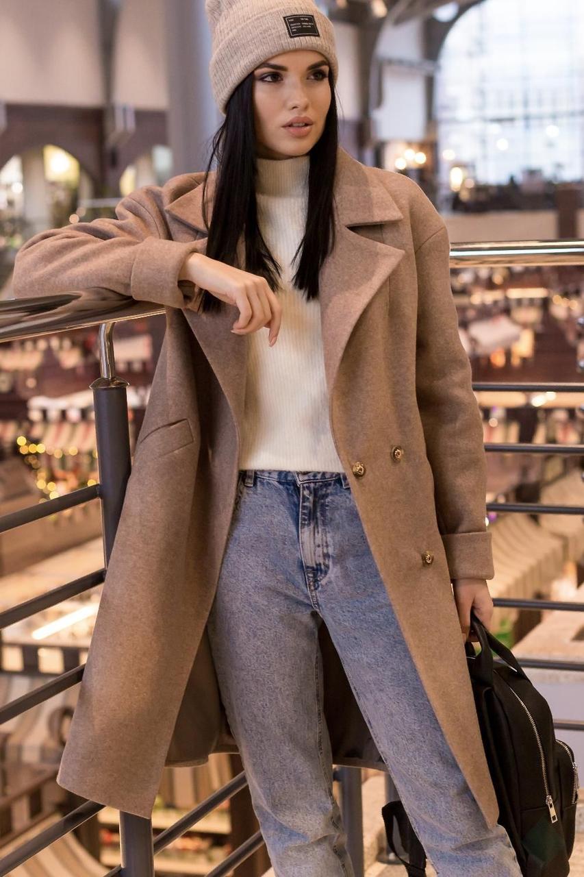 Модне пальто весна 2020 з 42 по 50 розмір