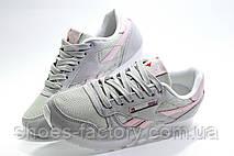 Кроссовки женские в стиле Reebok Classic Leather, Beige\Pink, фото 3