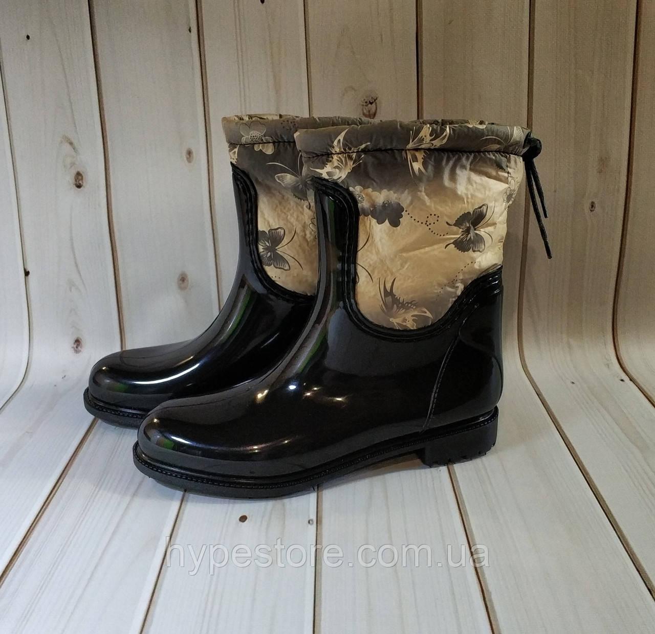 Женские резиновые утепленные сапоги,полусапоги,ботинки,для девочек