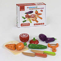 Деревянная игра Овощи на магнитах С 39276 48 - 219725