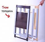 Стул деревянный складной белый WHITE Slim SILLA, фото 6