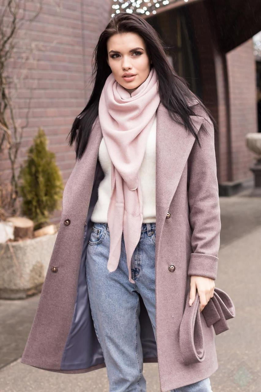 "Модное пальто ""паркетка"" весна 2020  с 40 по 50 размер"