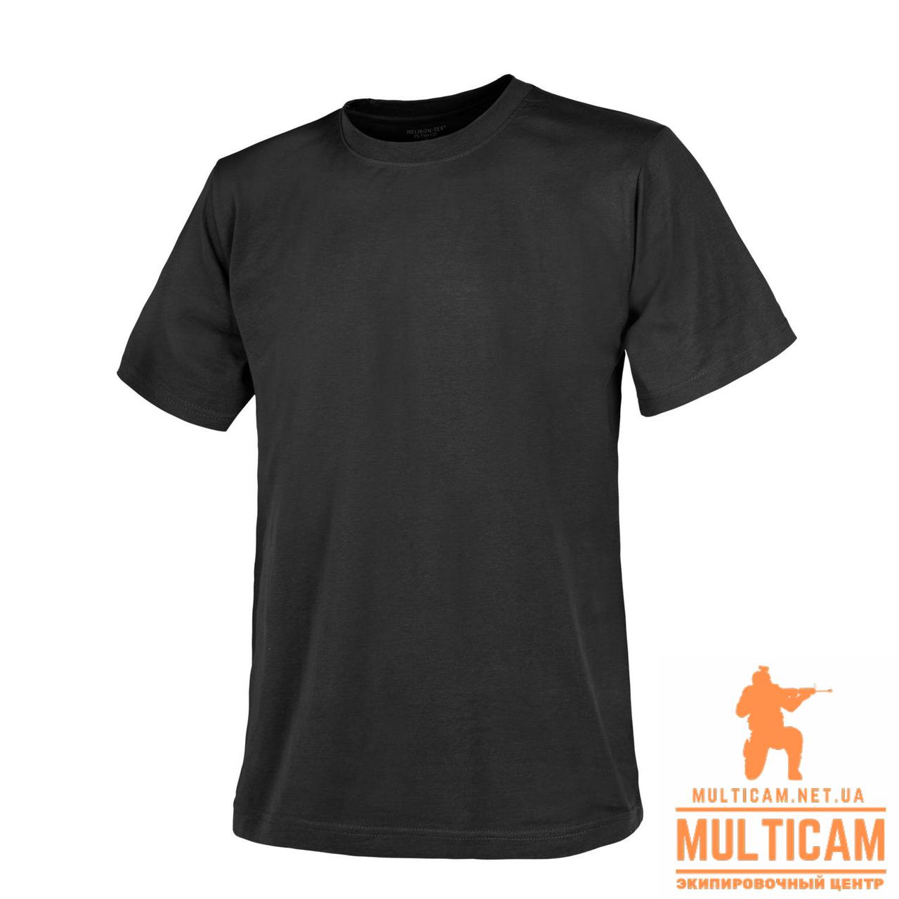 Футболка Helikon-Tex® T-Shirt - Cotton - Black