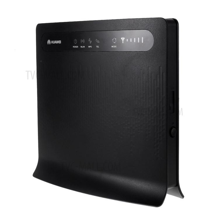 4G LTE або Wi-Fi роутер Huawei B593s-22 Black (Київстар, Vodafone, Lifecell)