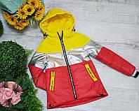 Куртка для девочки осень  весна код 909  размеры на рост от 146 до 164 возраст от 6 лет и старше, фото 1