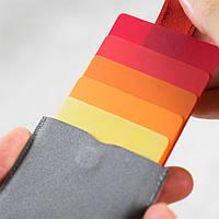 Картхолдер «Сard holder»  DAX для хранения банковских и других карточек основной  Код D-75