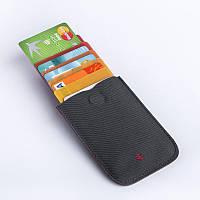 Картхолдер «Сard holder»  DAX для хранения банковских и других карточек основной Код D-74