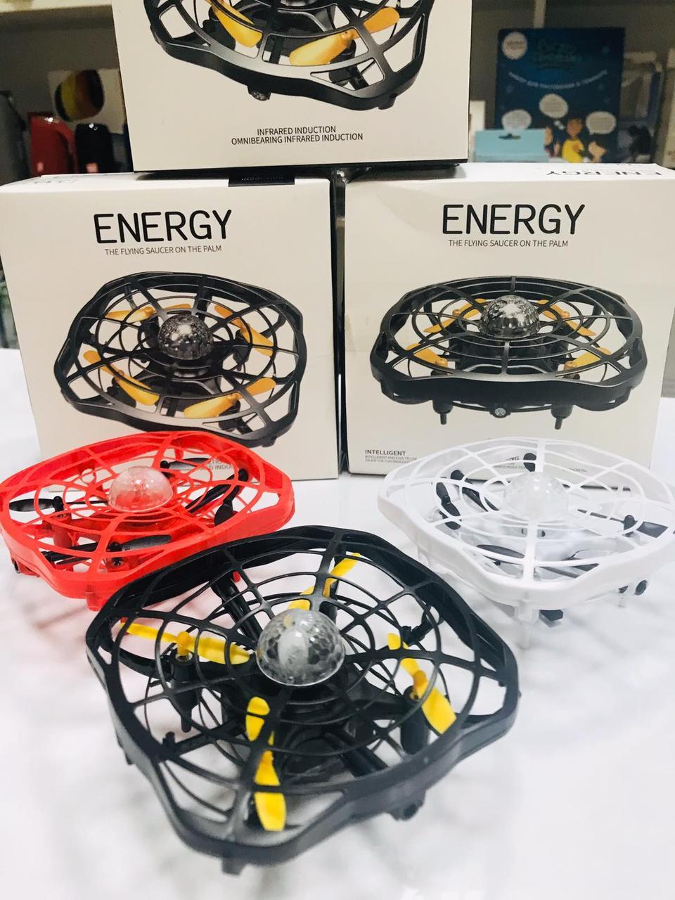 КВАДРОКОПТЕР ENERGY UFO Карманный дрон с управлением жестами руки ENERGY